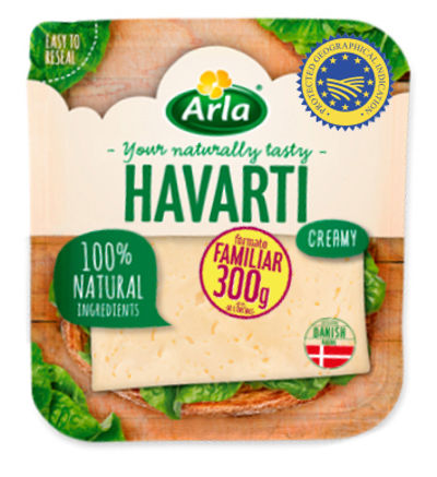 Lonchas Havarti pack familiar