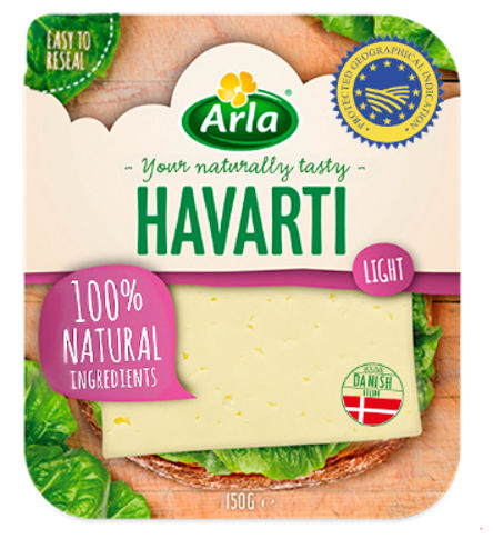 Lonchas Havarti Light