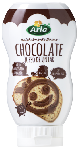Queso de Untar en Botella Chocolate