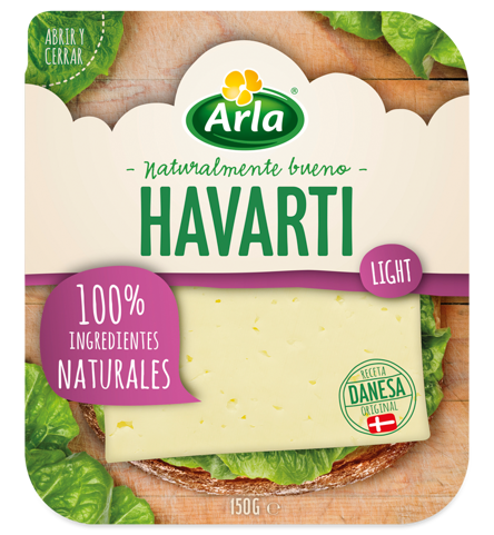 Havarti Light lonchas